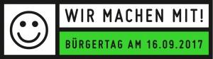 Bürgertag 2017 Gütersloh tatkräftig Mitmachbutton